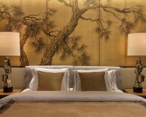 Asiatische Schlafzimmer In New York Design-ideen & Bilder | Houzz Schlafzimmer Asiatisch