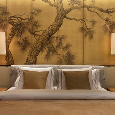 Asian Bedroom by Incorporated