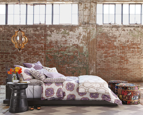 Eclectic Bedroom by Horchow