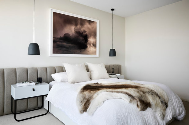 Contemporary Bedroom by Danielle Serpanchy Interior Design