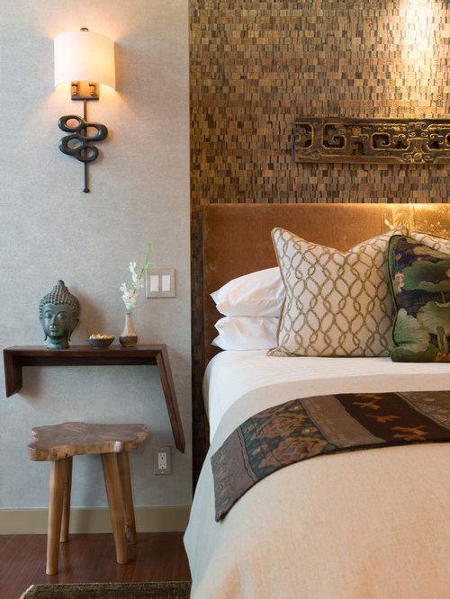 asiatische schlafzimmer mit gr nen w nden ideen design. Black Bedroom Furniture Sets. Home Design Ideas