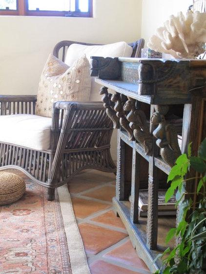 Mediterranean Bedroom by Charmean Neithart Interiors, LLC.