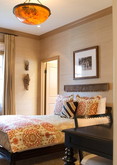 Traditional Bedroom by Charmean Neithart Interiors