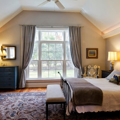 traditional bedroom by Knight Architects LLC