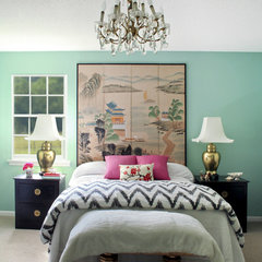 asian bedroom by The Green Room Interiors