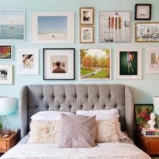 Eclectic Bedroom by L. Weatherbee Design Studio