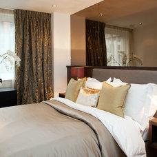 Contemporary Bedroom by Definitive Interior Design