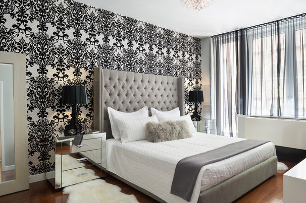 Contemporary Bedroom by m monroe design
