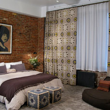 Eclectic Bedroom by 8.8 Design