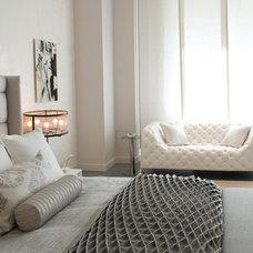 Contemporary Bedroom by Betty Wasserman