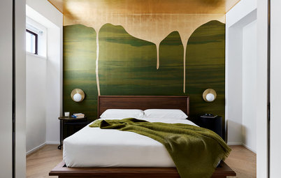 Chic Feature Walls Star in Popular New Bedrooms in Summer 2018