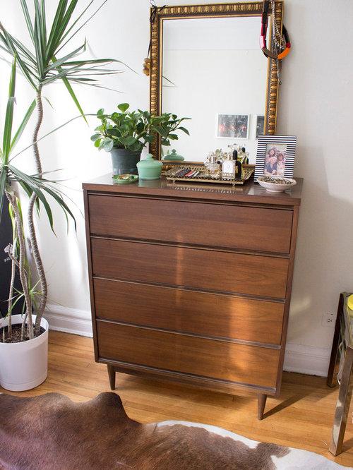 Midcentury Mezzanine Bedroom Design Ideas, Renovations u0026 Photos