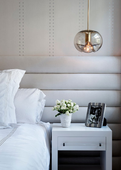 Ideas For Bedside Pendant Lights Houzz - Bedroom lights off