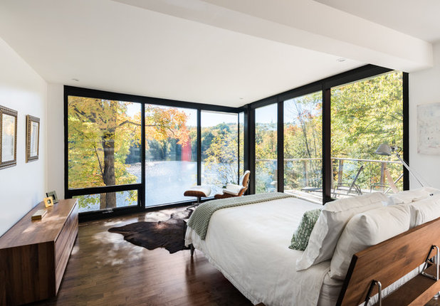 Contemporary Bedroom by Photolux Commercial Studio