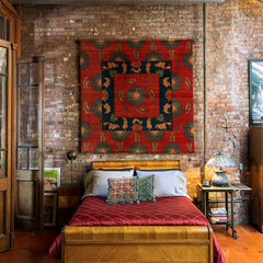 eclectic bedroom by Ralo (Tibet Carpet)
