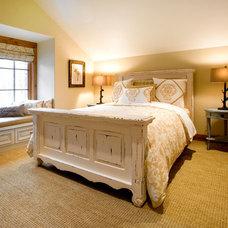 Bedroom by Cherie Myrick Interiors