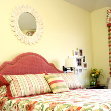 Cherry, Colorful Bedroom Makeover in Westminster, CO