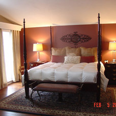 Traditional Bedroom by Cheryl Shinabarger