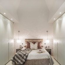 contemporary bedroom by hub architects and designers ltd beach style balcony helius lighting group