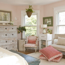 Eclectic Bedroom by Margaret Carter Interiors