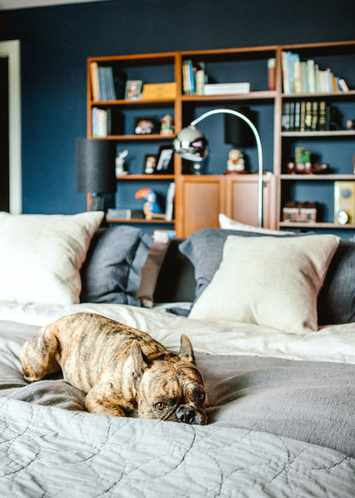 コンテンポラリー 寝室 by Noz Design
