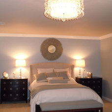 Contemporary Bedroom by Chic Abode Interiors, LLC