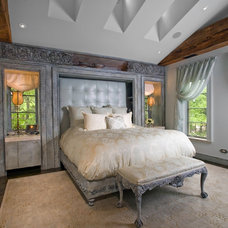 Eclectic Bedroom by Fredman Design Group