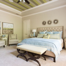 Transitional Bedroom by Traci Connell Interiors