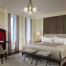 Contemporary Bedroom by Rugo/ Raff Ltd. Architects