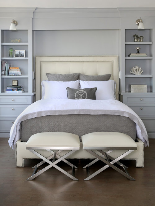 Interior Small Master Bedroom our 11 best small master bedroom ideas decoration pictures houzz transitional cork floor photo in chicago with gray walls
