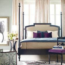 Transitional Bedroom by Arlington Design Center