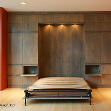 Modern Bedroom by Hylan Design, Ltd.