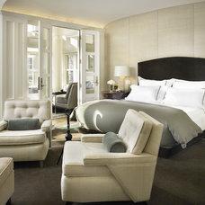 Transitional Bedroom by Handman Associates
