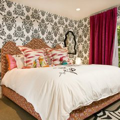 eclectic bedroom by Grace Home Design, Inc.