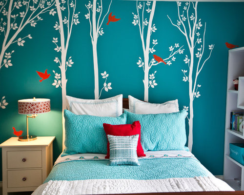 Turquoise Girls Bedroom Home Design Ideas, Pictures ...