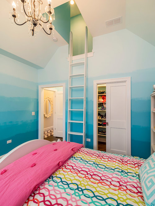 Pink Bedroom Design Ideas Renovations Photos With Multi