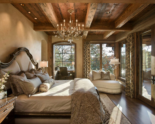 chandelier master bedroom | houzz