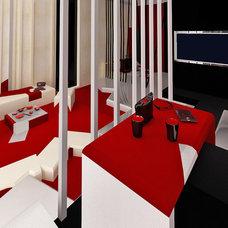 Contemporary Bedroom by Brani & Desi