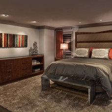 Contemporary Bedroom by David Rance Interiors