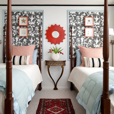 Transitional Bedroom by Rachel Oliver Design, LLC