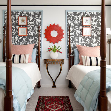 Chinoiserie Guest Bedroom