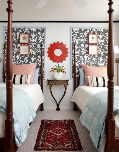 Transitional Bedroom by Rachel Oliver Design, LLC