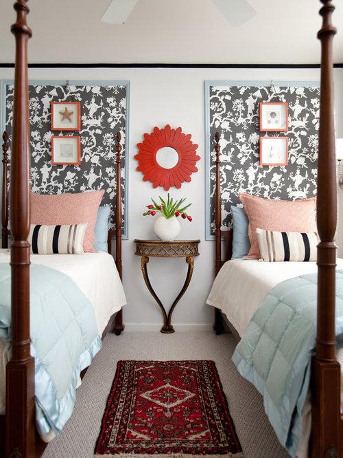 Framed Wallpaper Houzz