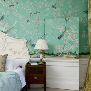 This is an example of a traditional bedroom in Other.