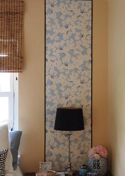 Eclectic Bedroom by Little Black Door Designs
