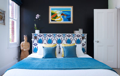 10 Patterned Headboards That Make a Bedroom Design
