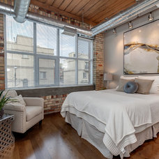 Industrial Bedroom by The Graces - ReMax Hallmark Realty