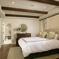 Mediterranean Bedroom by Christian Rice Architects, Inc.