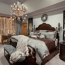 Mediterranean Bedroom by Spallina Interiors