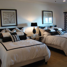 Contemporary Bedroom by christy johnson